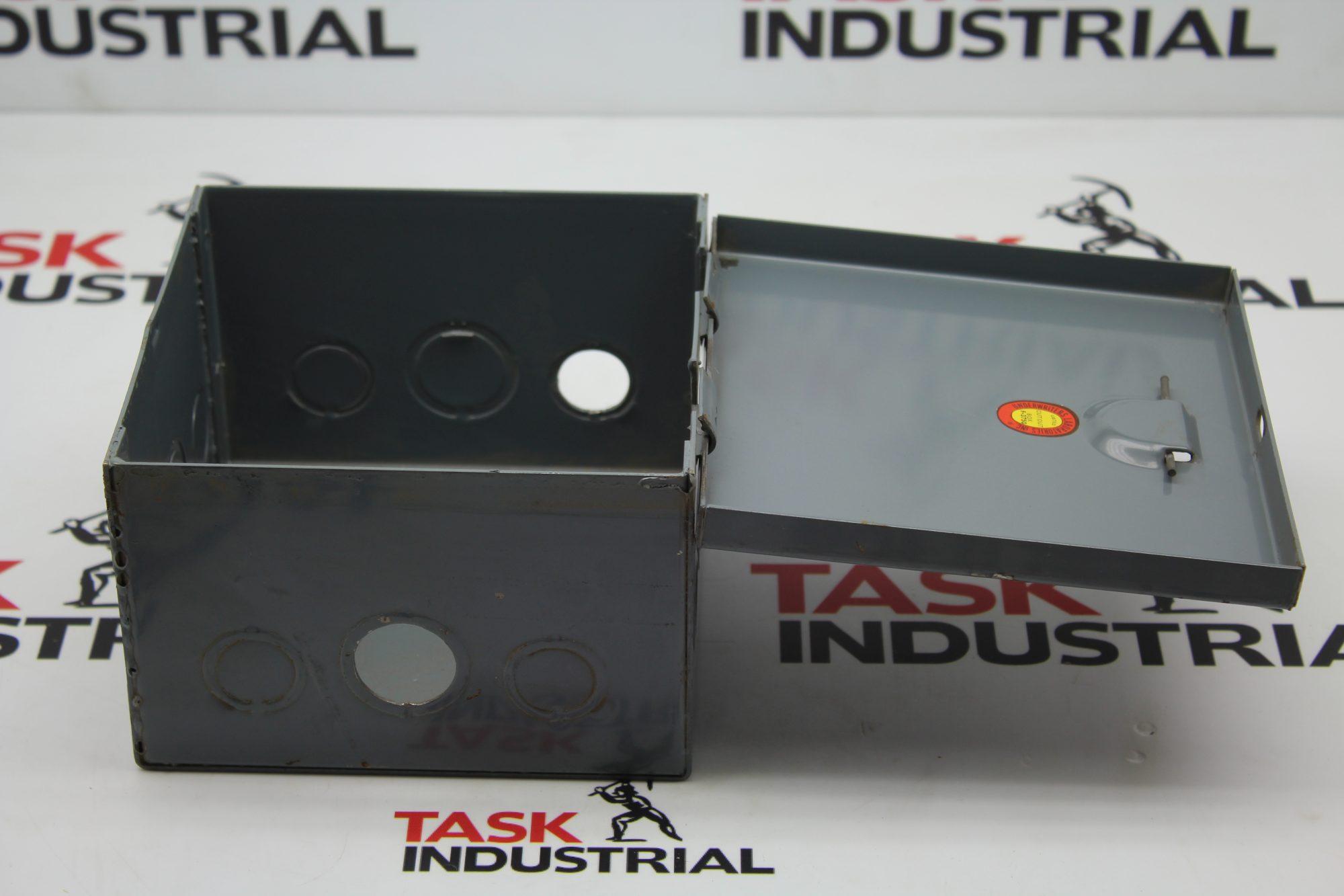 Underwriters Laboratories F-3750 Box Enclosure.