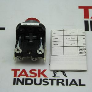 Allen-Bradley Push Button Switch Red CAT No. 800T-B6A