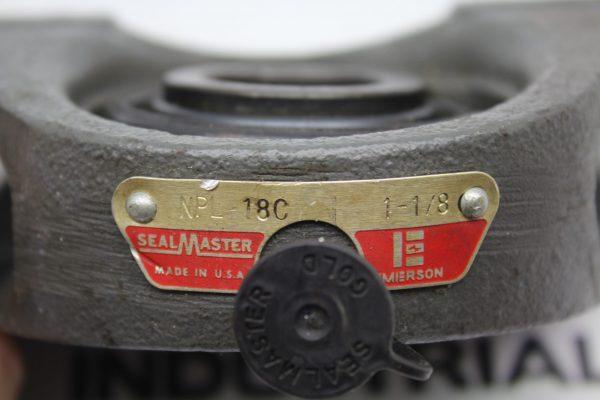 "SealMaster NPL 18C 1-1/8"" Pillow Block Bearing"