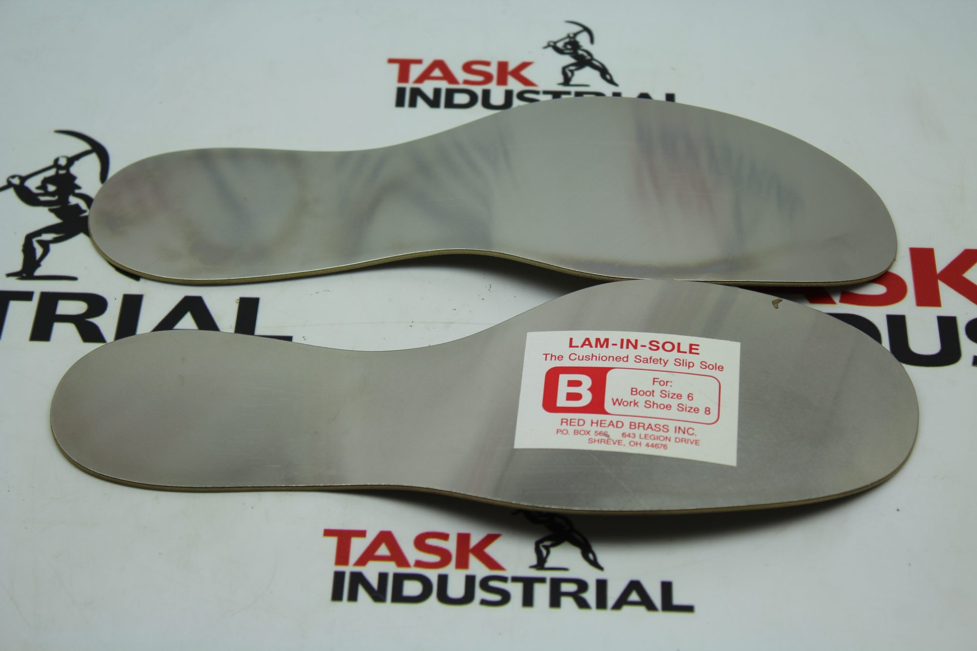 Red Head Brass Inc. LAM-IN-SOLE Boot Size 6 Safety Slip Sole