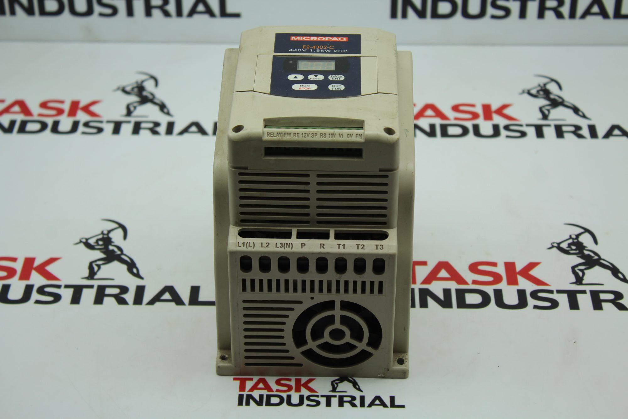MicroPaq E2-4302-C 2HP 440V VFD Drive