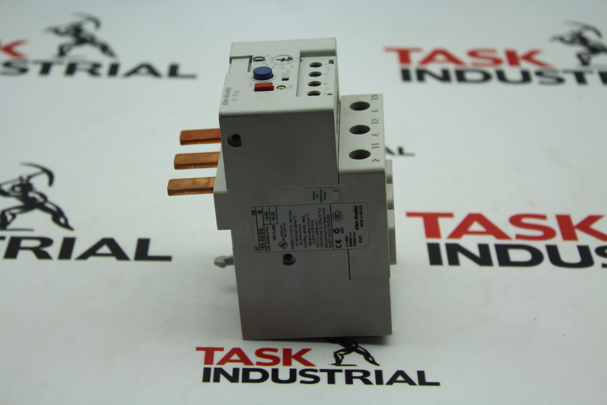 Allen-Bradley E1 PLUS CAT No. 193-EEGE Overload Relay.