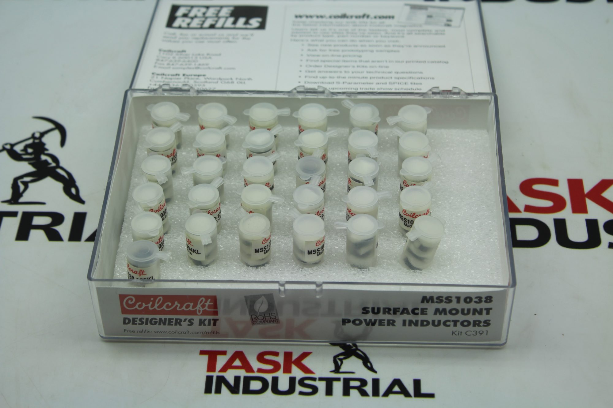 Coilcraft MSS1038 Surface Mount Power Inductors KIT C391