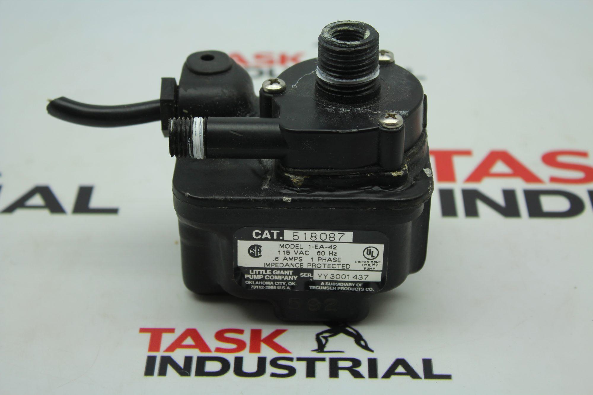 Little Giant Pump Company CAT No. 518087 Model A-EA-42
