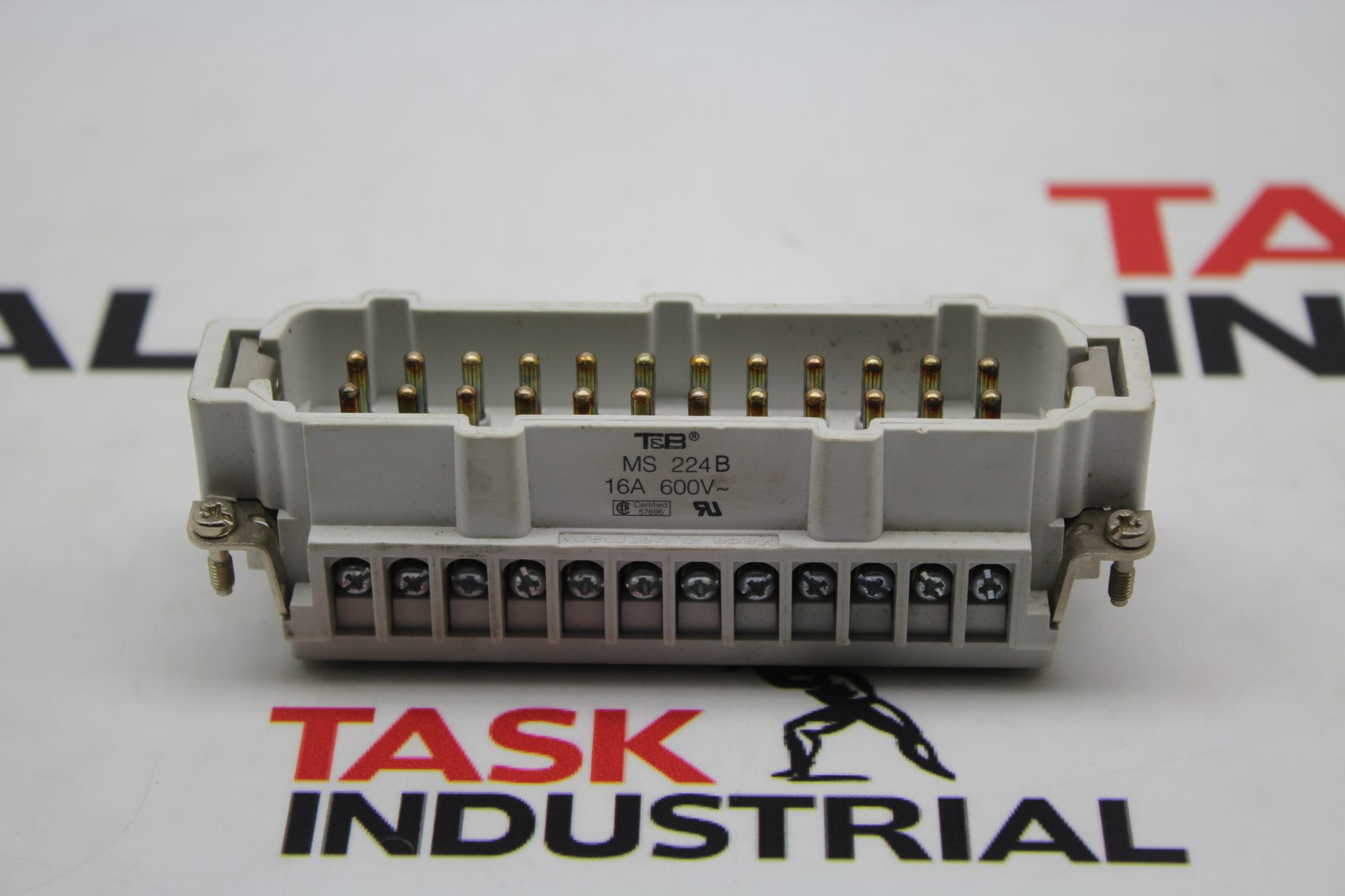 T&B MS 224B 16A 600V Connectors