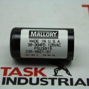 Mallory 30-36MFD Capacitor 235-0021-01