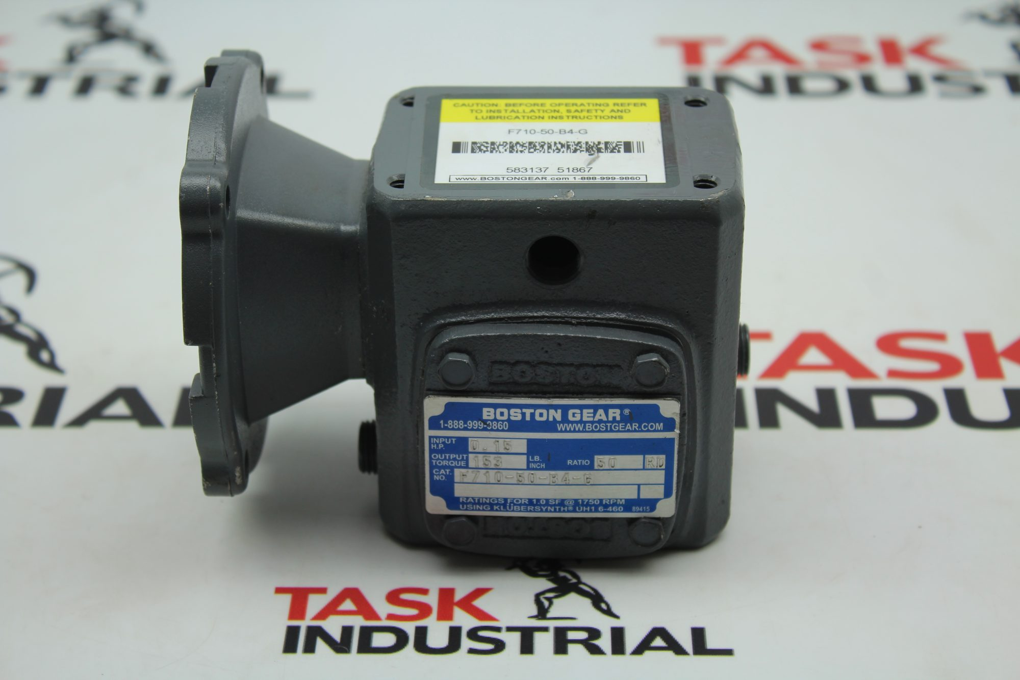 Boston Gear F710-50-B4-G Gear Reducer