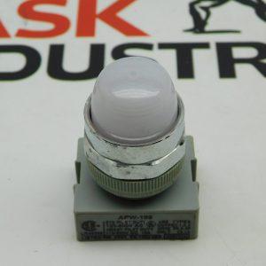 IDEC APW-199 STD Pilot Light White