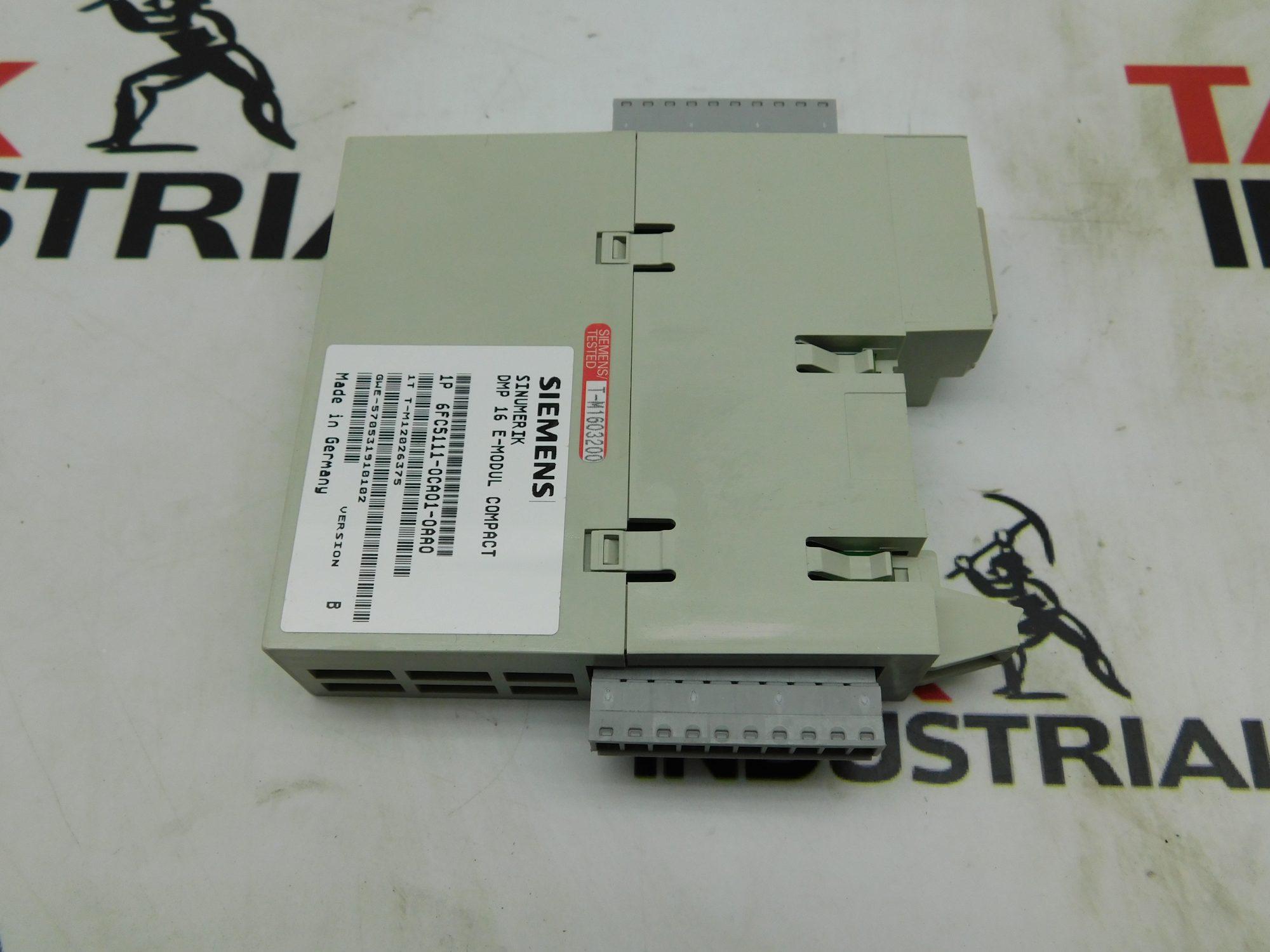 Siemens 6FC5111-0CA01-0AA0 DMP Modul