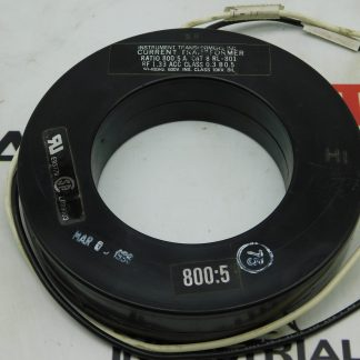 Instrument Transformer Current Transformer CAT No. 8 RL-801 Ratio 800-5A