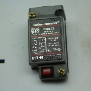 Cutler-Hammer Limit Switch Body Series A1 E50SCL