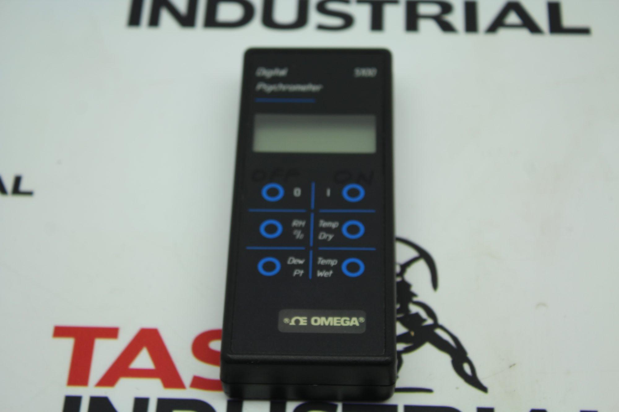 Omega Model 5100 Digital Psychrometer Keypad Only