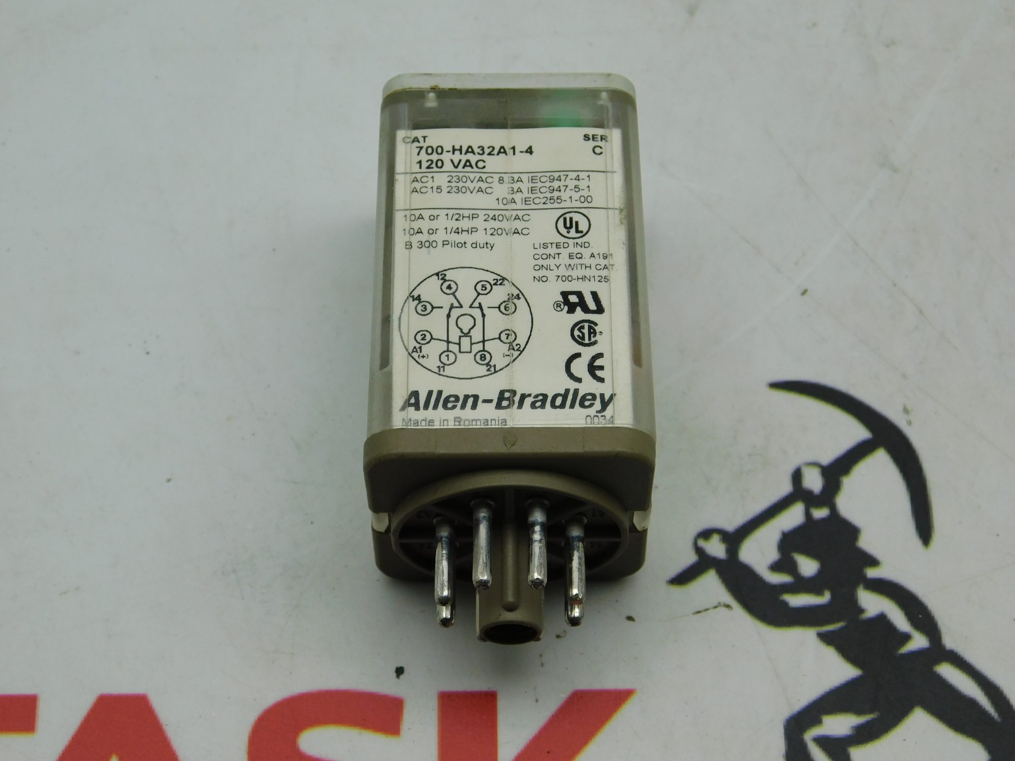 Allen-Bradley CAT No. 700-HA32A1-4 Series C