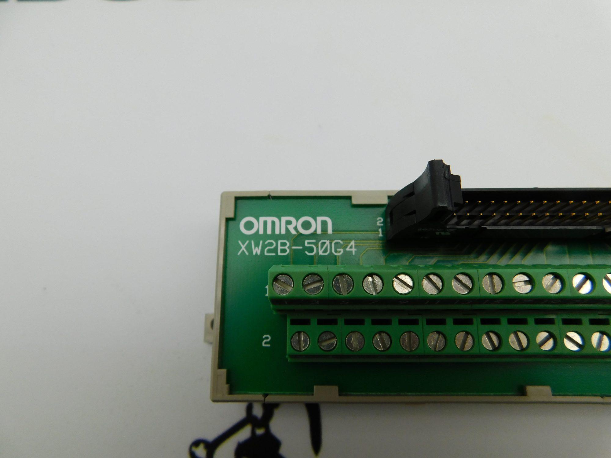 Omron Terminal Block Conversion Units XW25-50G4