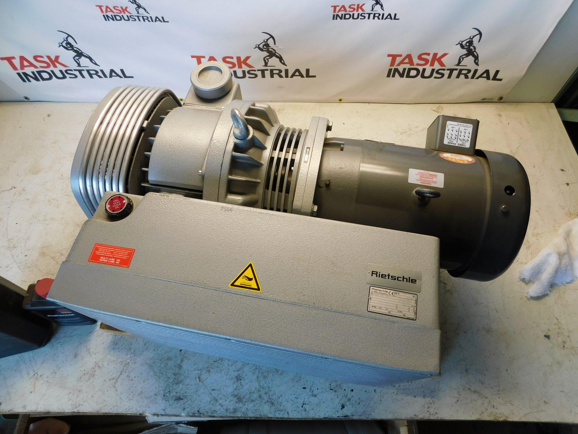 Thomas Rietschle Vacuum Pump VCEH 160 7.5HP, 1725RPM, 213TC Frame
