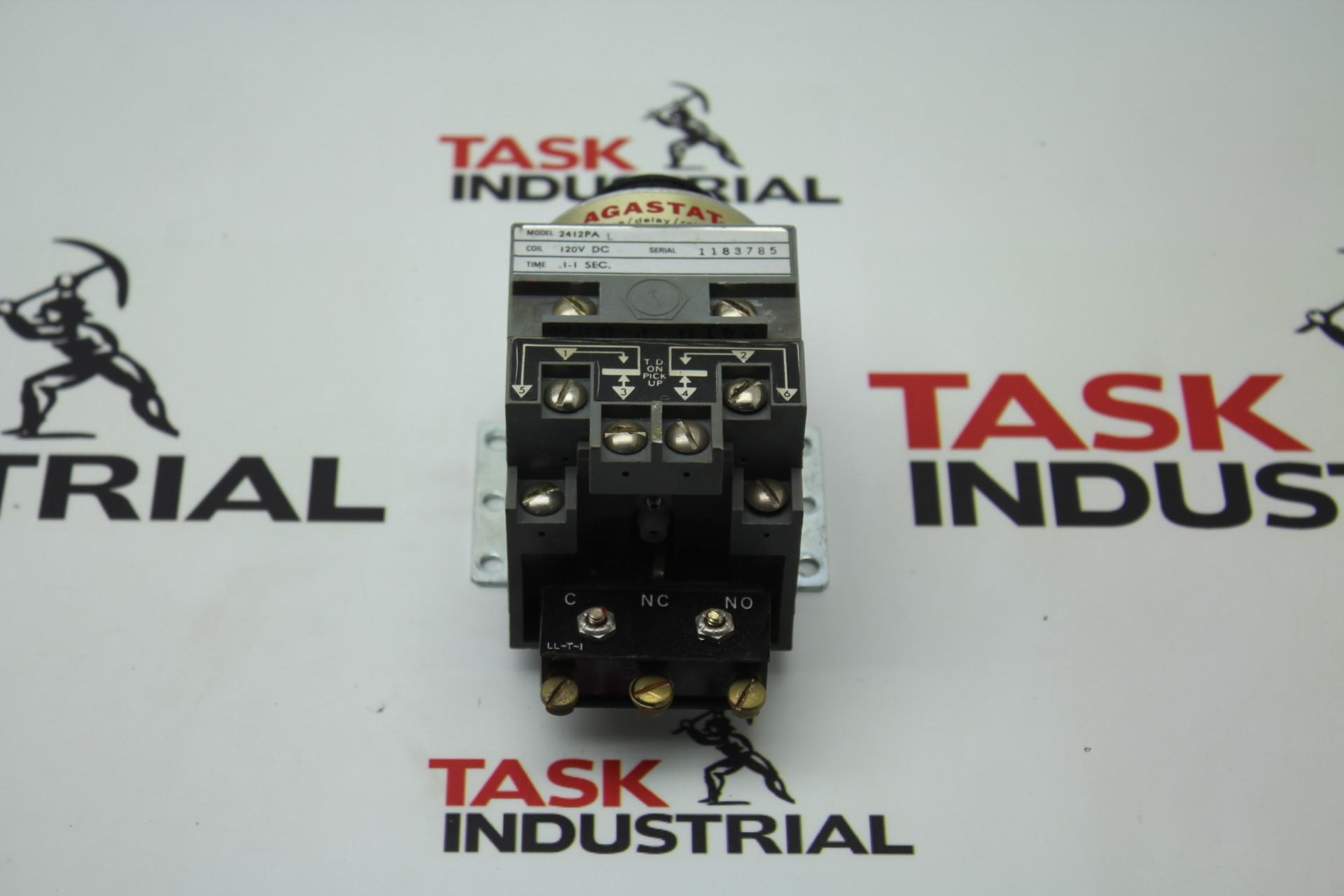 Agastat Model 2412PA Coil 120V DC time/delay/relay