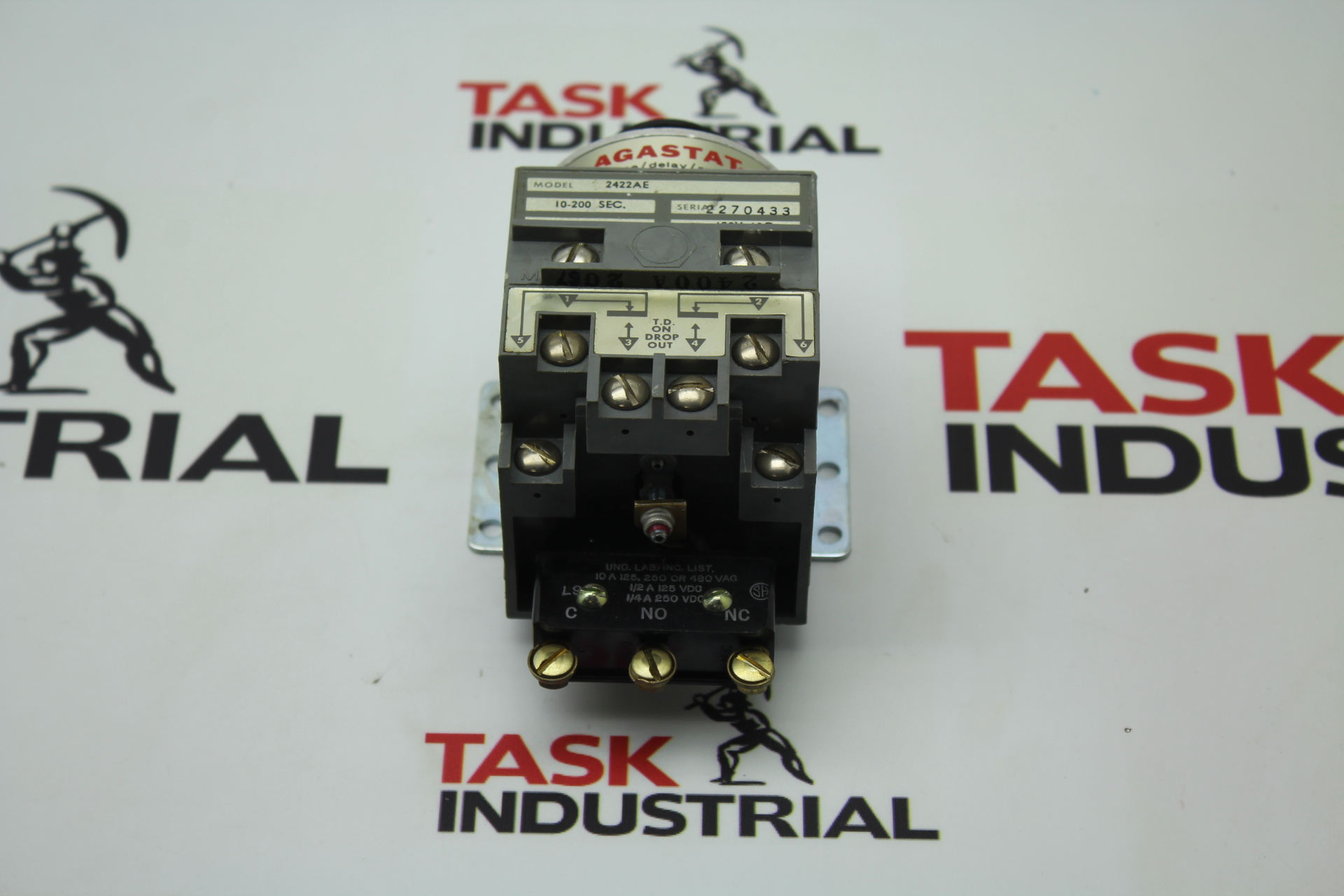 Agastat Model 2422AE Coil 120V 60C time/delay/relay