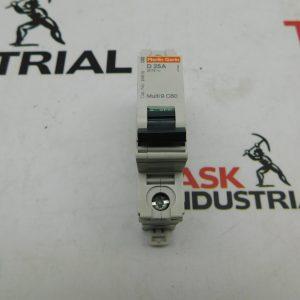 Merlin Gerin Circuit Breaker D25A Multi 9 C60 277V