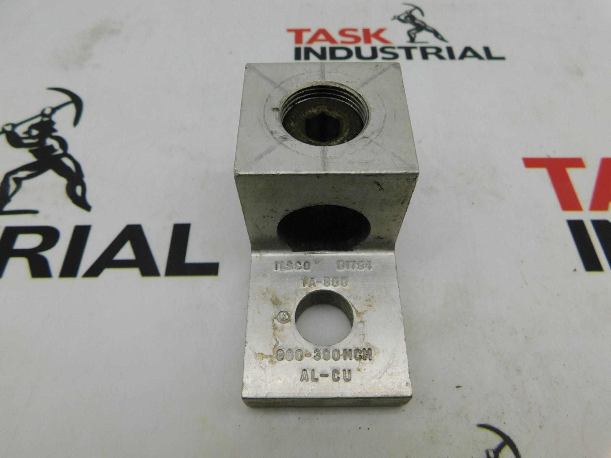 Ilsco Lug Terminal TA-800/D1794/AL-CU