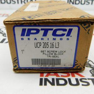 "IPTCI Bearings UCP 205-16 L3 1"" Pillow Block Tri-Seal"