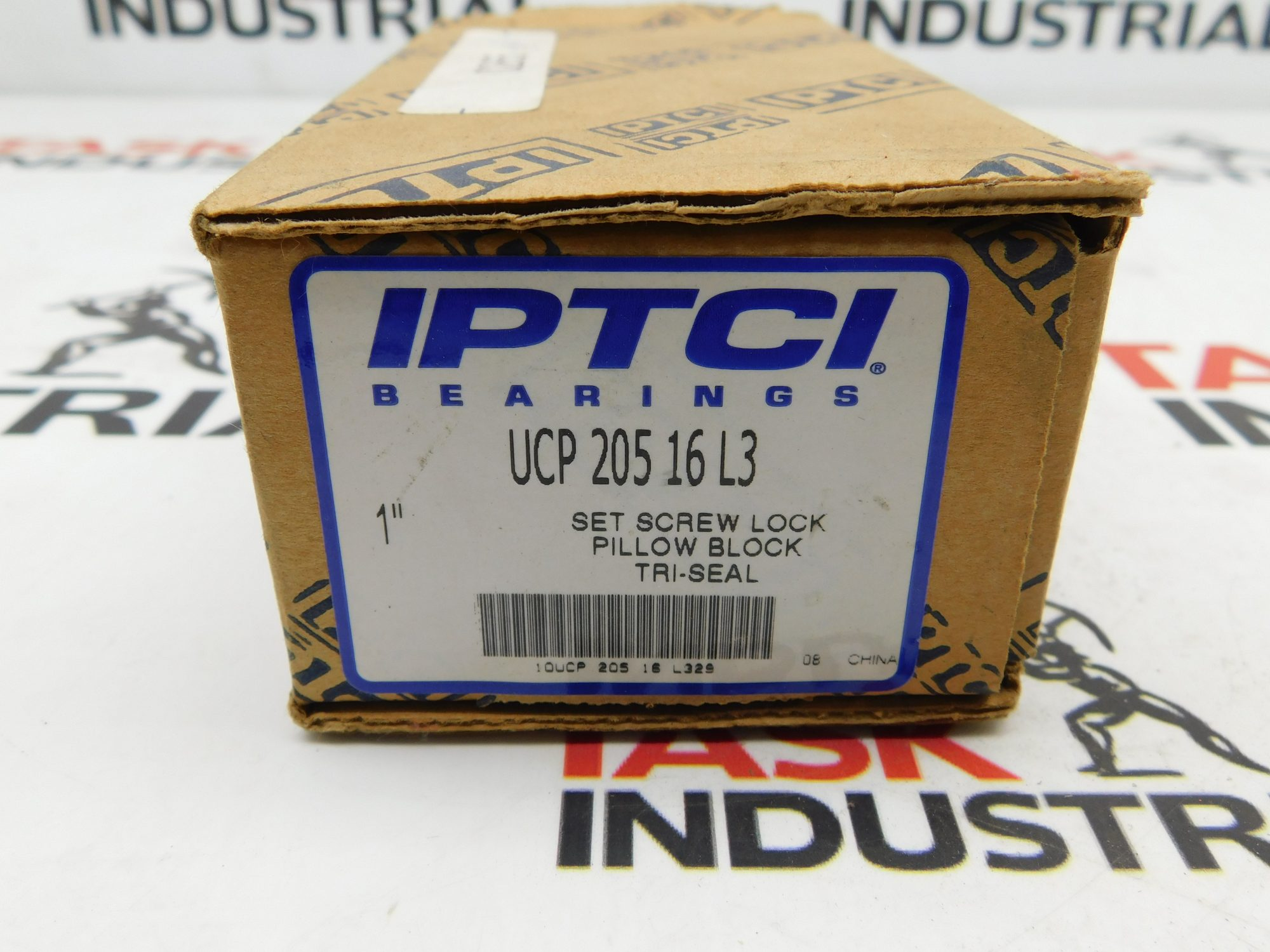 "IPTCI Bearings UCP 205-16 L3 1"" Pillow Block Tri-Seal"