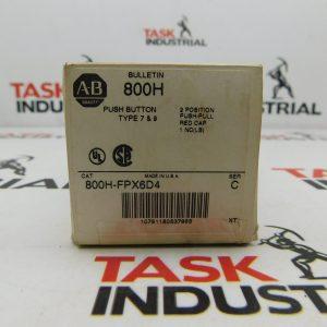 Allen-Bradley Push Button Series C CAT No. 800H-FPX6D4