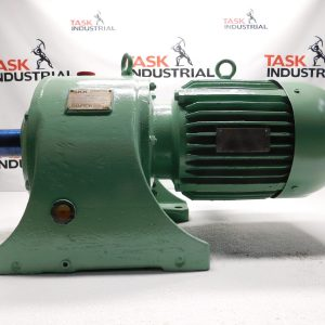 SKK AFT Gear Motor 5HP @1145RPM, Ratio 25.735:1, 45 RPM, Class 2, Case Size 65