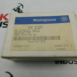 Westinghouse BF Control Relay 300 Volt 1 BF22F