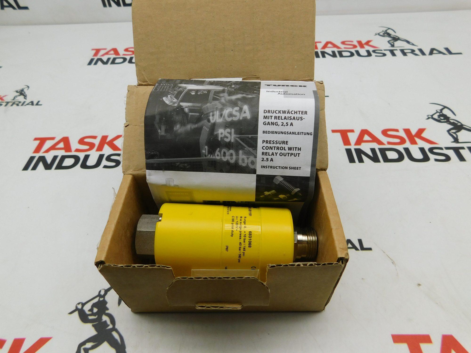 Turck Pressure Sensor PC010-Gi1/4A1M-ARX-B1151