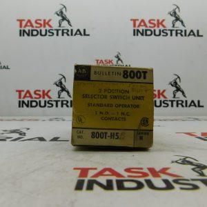 Allen-Bradley CAT No. 800T-H5 Series N 2 Position Selector Switch Unit