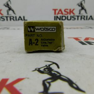 "Watsco A-2 Adjustable Line Tap Valve For 1/2"" -5/8"" O.D. Tube"