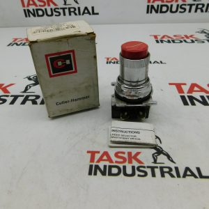 Cutler-Hammer 10250T73 Roto-Push Operator Switch Red Series B1