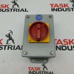 Allen-Bradley Contactor w/Enclosure 194E-M/A72415/194E-NX20