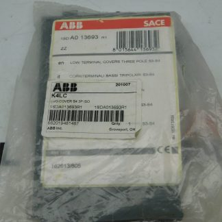 ABB 1SDA013693R1 Low Terminal Cover 3-Pole
