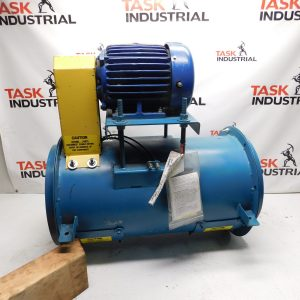 5HP Twin City Fan & Blower w/ TECO HB0052 5HP, 3480 RPM, 184T Frame