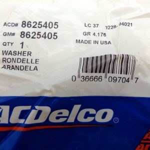 ACDelco 8625405 Auto Trans Output Shaft Thrust Washer