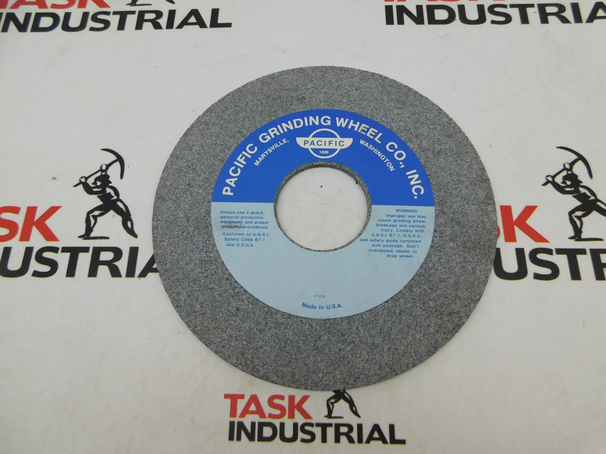 Pacific Grinding Wheel 43A46/60-K8-VL2 VIT Max 2760 RPM, 225MM X 5MM X 60MM