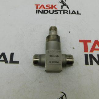 Omega FTB-9501 Low Flow Turbine Meter 5000 PSIG Max 0.006 to 0.046 GPM