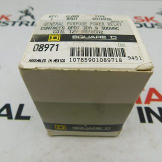 Square D 8501CO16V36 General Purpose Power Relay Contact