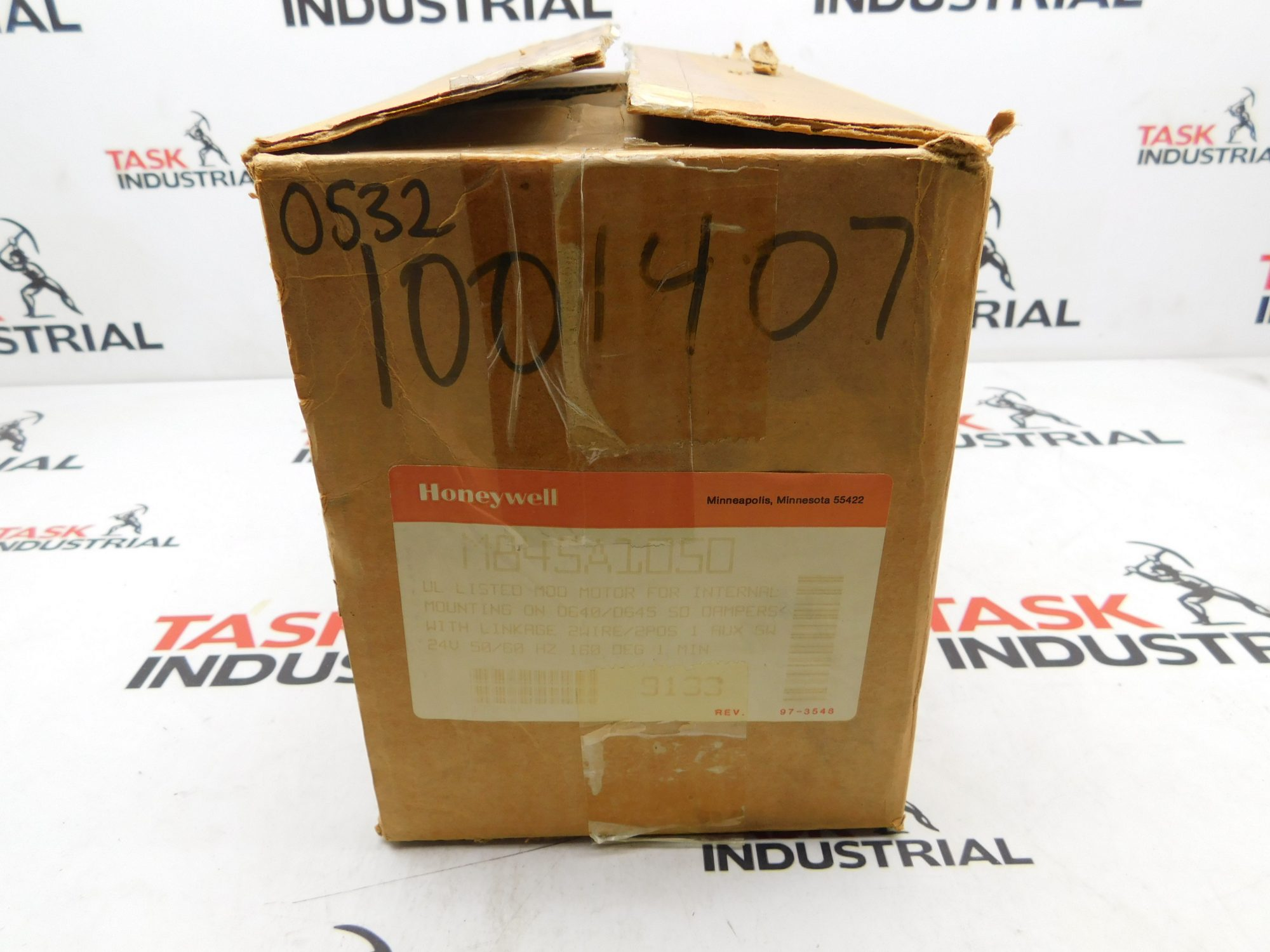 Honeywell Modutrol Motor M845A1050 6 24V .86AMPS 50/60HZ