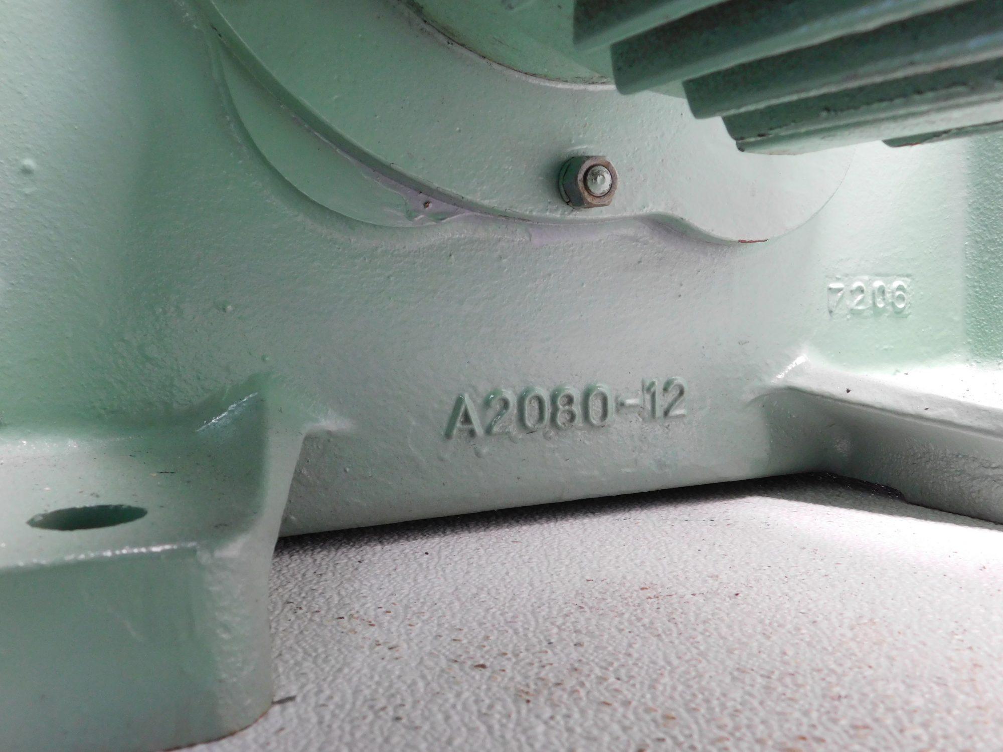 SKK AFT Gear Motor 10HP @1160RPM, Ratio 25.735:1, 45 RPM