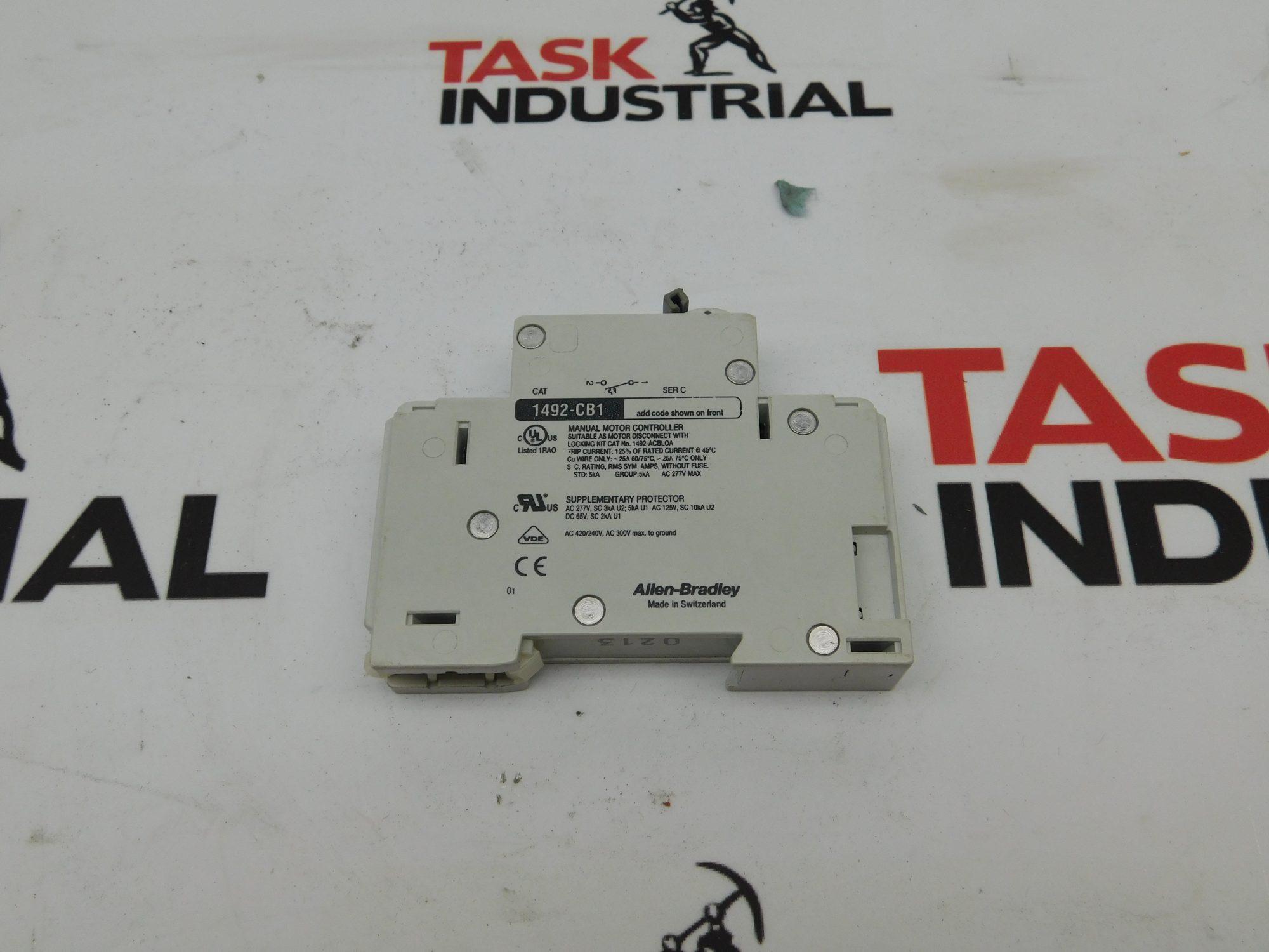 Allen-Bradley 1492-CB1-G150 15 Amp Circuit Breaker