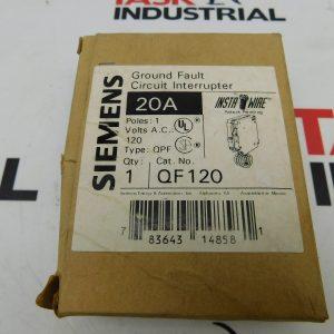 Siemens Ground Fault Circuit Breaker 1 Pole QF120