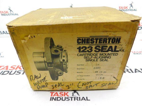 Chesterton 123 Seal Shaft Size 2.000 Seal Size 16 Cartridge Mounted Self-Aligning Single Seal