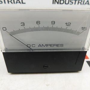 Crompton DC Amp Panel Meter 363-01/AA-NDND 1-15 Amp Max