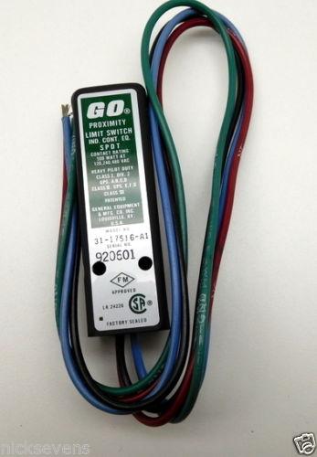 GO Proximity Limit Switch 31-17516-A1 SPDT 500W 120V