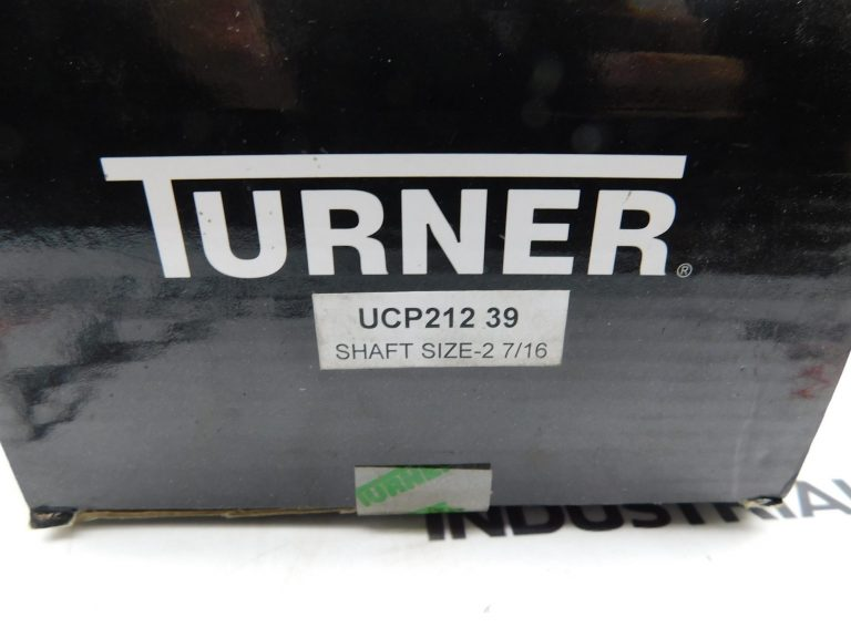 "Turner UCP212-39 Shaft Size 2-7/16"" Pillow Block Bearing"