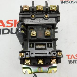 Allen-Bradley 500F-B0D930 NEMA Size 1 AC Contactor w/ Mounting Bracket