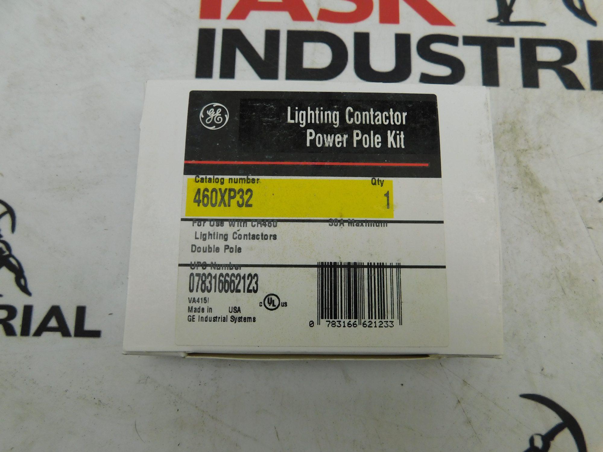GE 460XP32 Lighting Contactor Double Pole