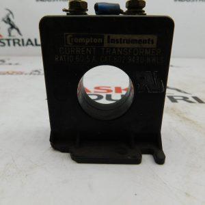 Crompton Instruments CAT No. 802-943U-NWLS Current Transformer Ratio 60:5